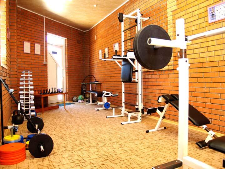 для любителей активного отдыха предлагаем посетить тренажерный зал...