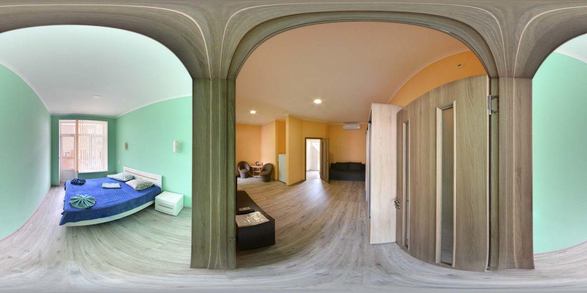 Апартаменты. 3-х комнатный люкс. Белый корпус.