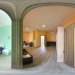 Апартаменты.6 мест.3 комнатный люкс.Желтый и белый корпус.