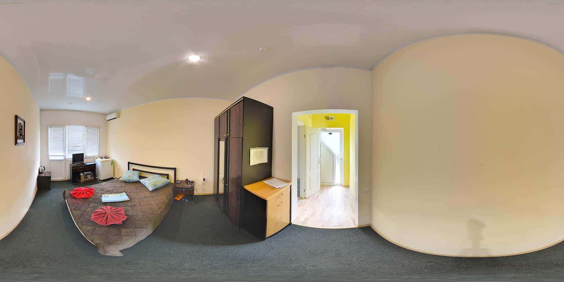 2 местный люкс с видом на двор.1 комната.Админ корпус